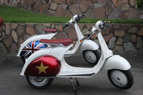 Saigon Scooter Centre - Electric conversions - Lambretta parts