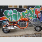 SSC Custom Lambretta chopper